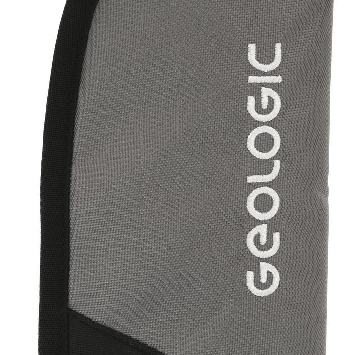 Softtasche für Billard-Queue schwarz/grau