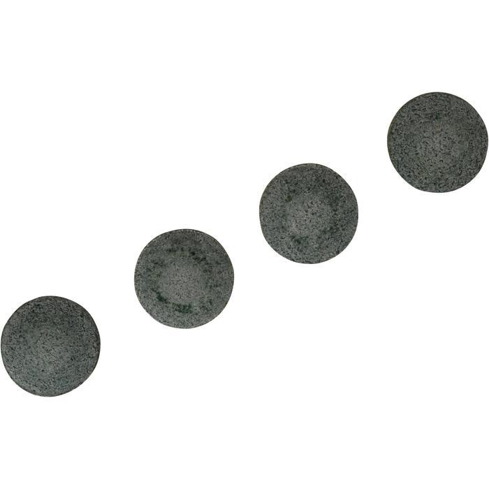 Set van 4 pomeransen van 13 mm voor poolkeu