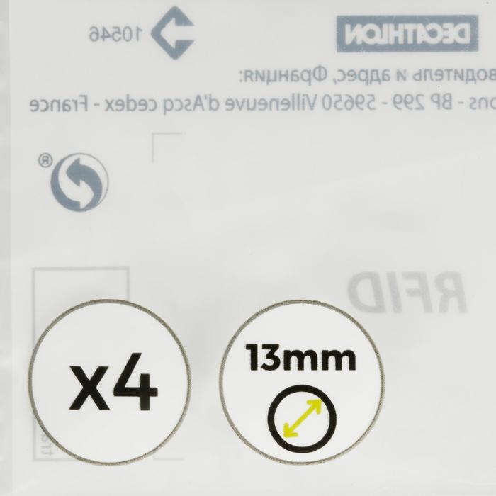 Set van 4 pomeransen diameter 13 mm voor biljartkeu