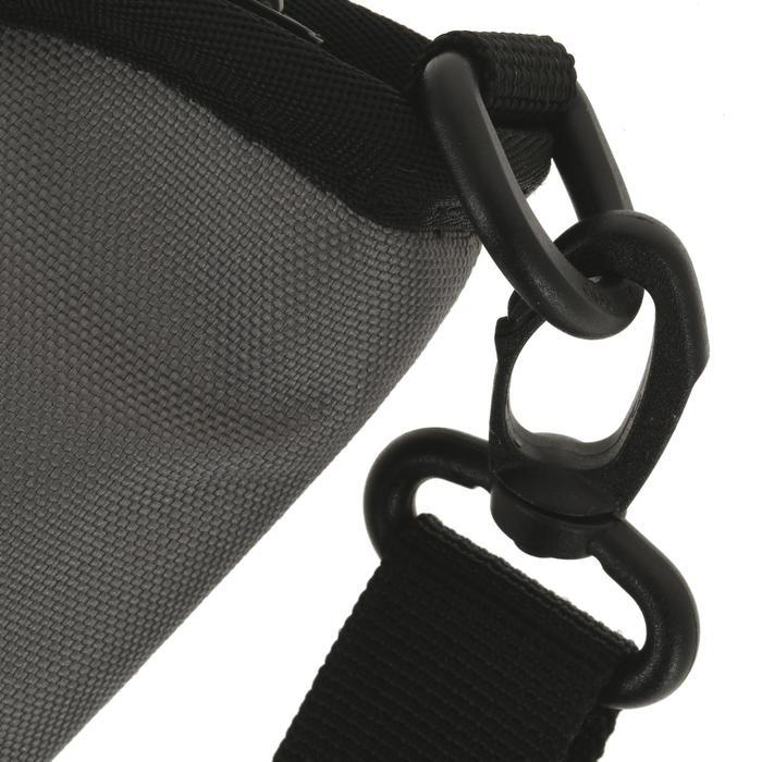 撞球桿軟式保護盒 - 黑色/灰色