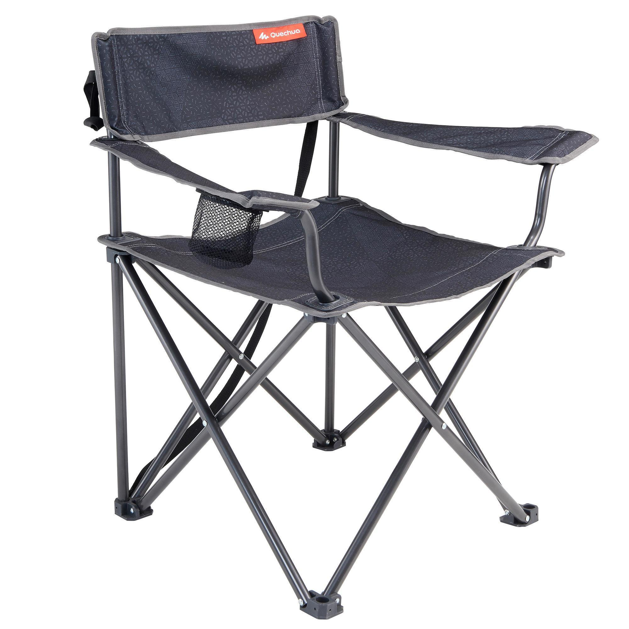 Camping Chair Hiker Camp Grey