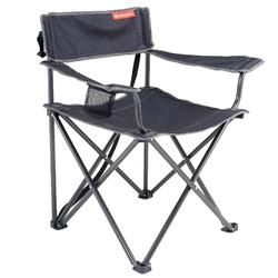 摺疊式露營椅(大)-灰色