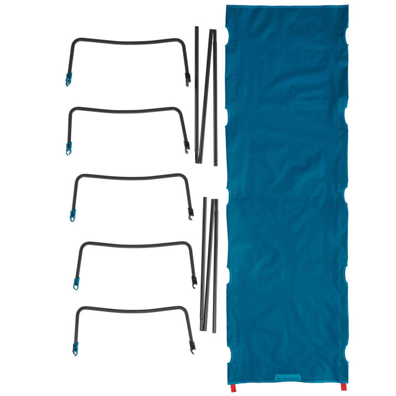 Catre 1 persona CAMP BED 60 AZUL