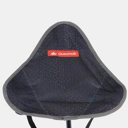 Campinghocker Dreibeinhocker grau