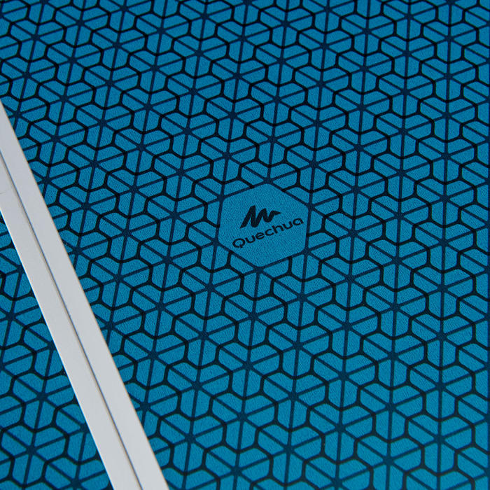 Campingtisch Klapptisch niedrig blau