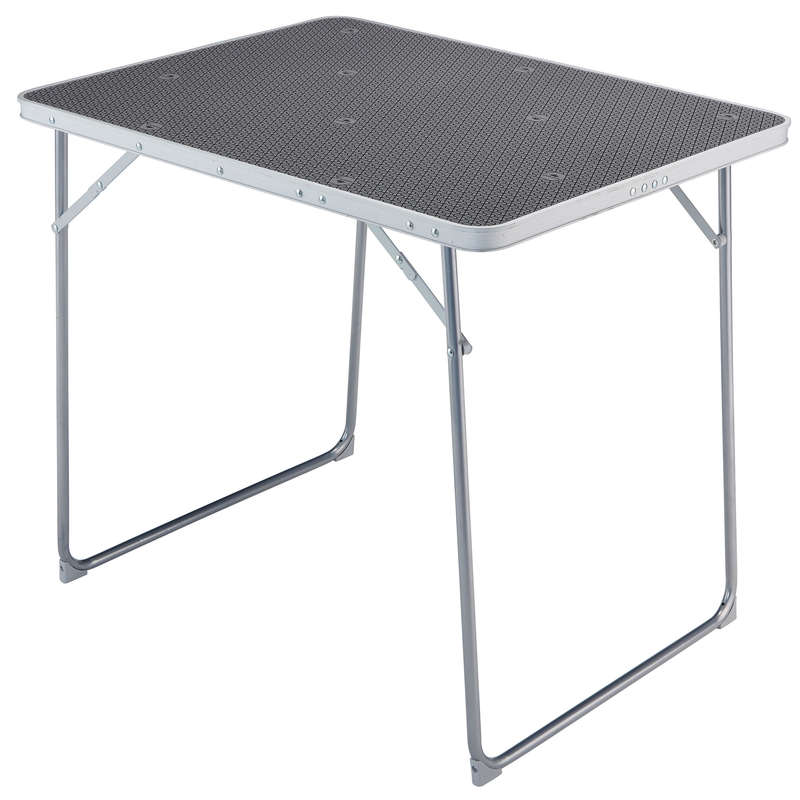 BASE CAMP FURNITURE Camping - 4 PERSON FOLDING CAMPING TABLE QUECHUA - Camping Furniture and Equipment