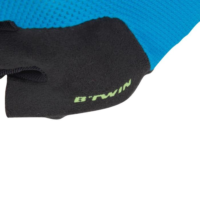 500 Junior Cycling Gloves - Blue - 1116587