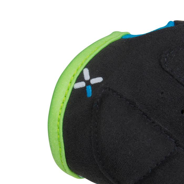500 Junior Cycling Gloves - Blue - 1116593