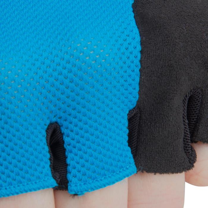 500 Junior Cycling Gloves - Blue - 1116595