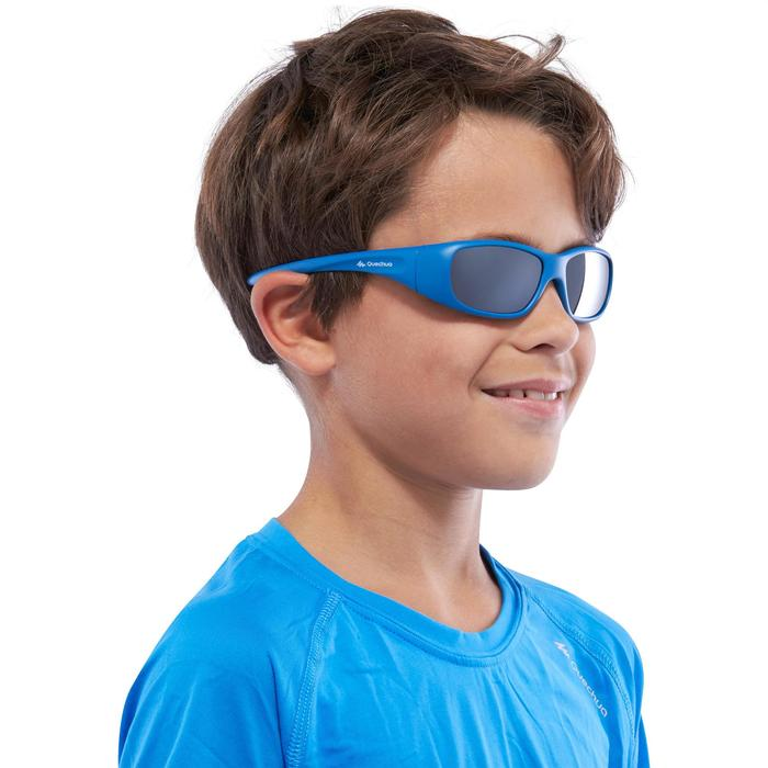 Lunettes de soleil de randonnée enfant 7-9 ans TEEN 300 noires catégorie 4 - 1116613
