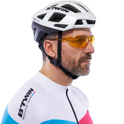 Fietsbril voor volwassenen Cycling 100 geel categorie 1 - 1116626