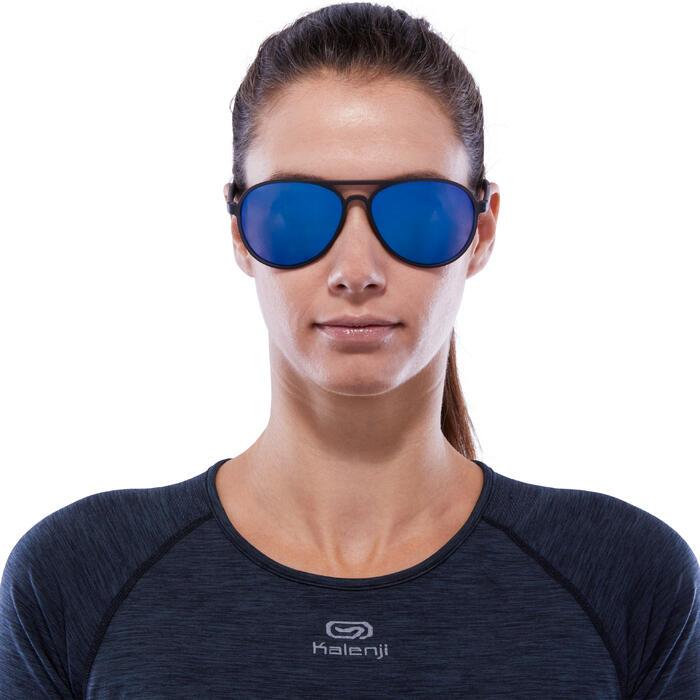 Sonnenbrille MH500 Kategorie3 Erwachsene schwarz/blau