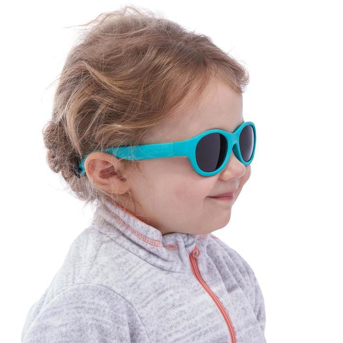 Lunettes de soleil randonnée enfant 2-4 ans MH K 100 bleues catégorie 3 - 1116645