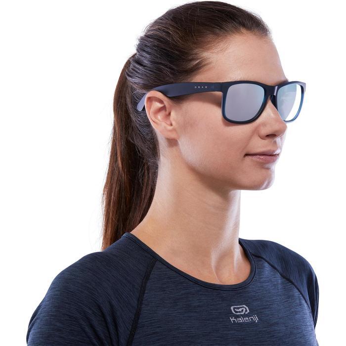 lunettes de soleil de marche sportive adulte WALKING 400 bleues catégorie 3 - 1116654
