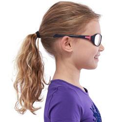 Zonnebril Teen 500 voor skiën en bergsporten, kinderen 7-10, wit, categorie 4 - 1116674
