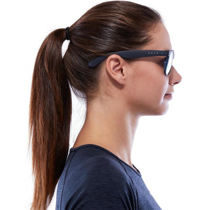 lunettes de soleil de marche sportive adulte WALKING 400 bleues catégorie 3 - 1116676
