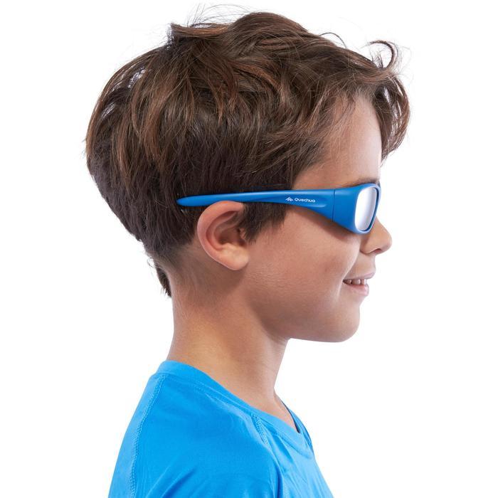 Lunettes de soleil de randonnée enfant 7-9 ans TEEN 300 noires catégorie 4 - 1116681