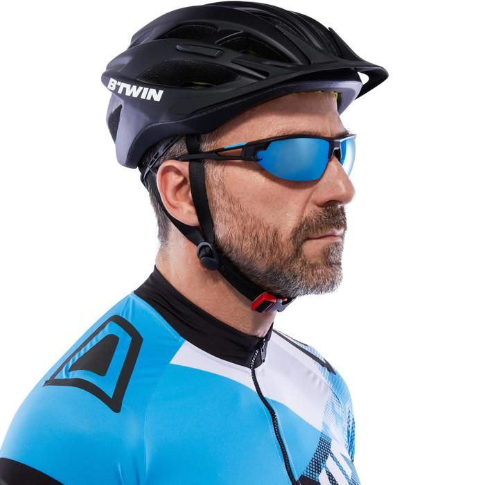 XC 100 Blue Pack Adult Cycling Sunglasses - 4 Interchangeable Lenses - Blue - 1116683