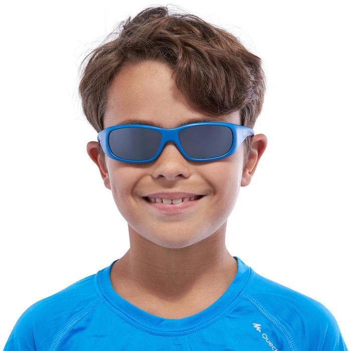 Lunettes de soleil de randonnée enfant 7-9 ans TEEN 300 noires catégorie 4 - 1116685