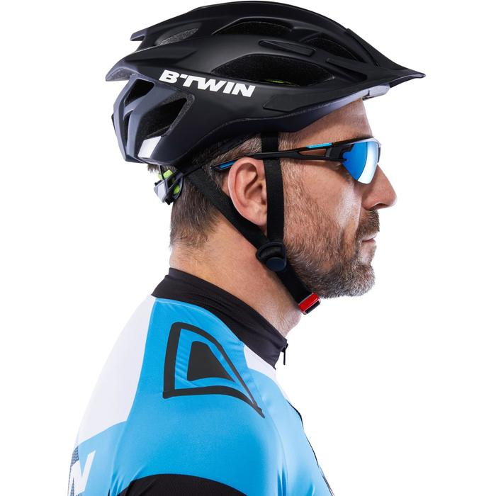 XC 100 Blue Pack Adult Cycling Sunglasses - 4 Interchangeable Lenses - Blue - 1116688