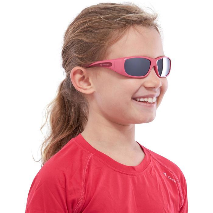 Lunettes de soleil de randonnée enfant 7-9 ans TEEN 300 noires catégorie 4 - 1116703
