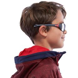 Gafas de sol senderismo niños 8-10 años MH T500 gris categoría 4