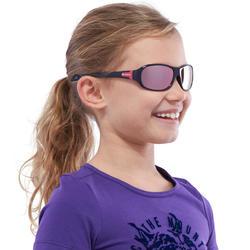 Zonnebril Teen 500 voor skiën en bergsporten, kinderen 7-10, wit, categorie 4 - 1116706