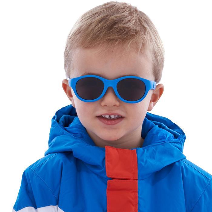 Lunettes de soleil randonnée enfant 2-4 ans MH K 100 bleues catégorie 3