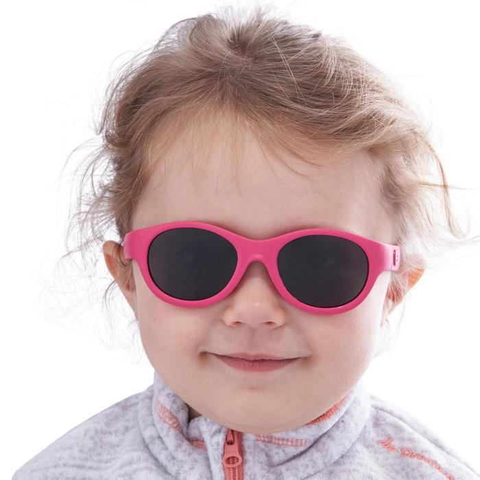 Lunettes de soleil randonnée enfant 2-4 ans MH K 100 bleues catégorie 3 - 1116708