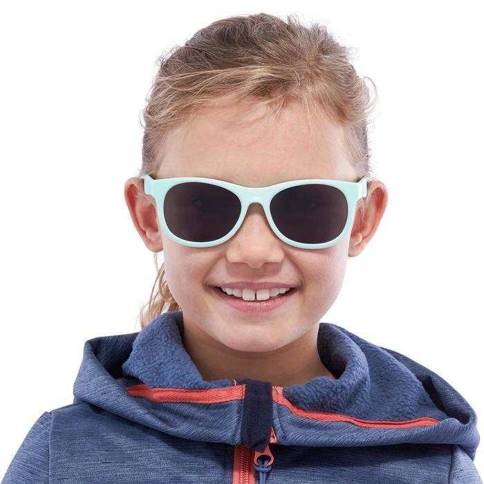 Lunettes de soleil randonnée enfant + de 7 ans TEEN 100 menthe catégorie 3