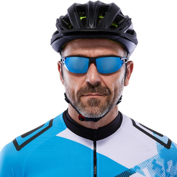XC 100 Blue Pack Adult Cycling Sunglasses - 4 Interchangeable Lenses - Blue - 1116723