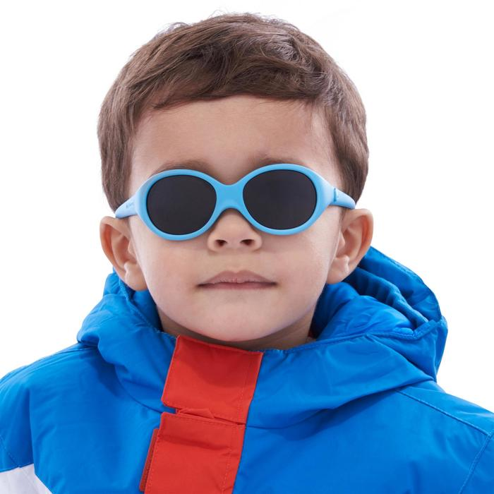 Gafas de sol de senderismo bebé 6 - 24 meses MH B100 azul categoría 4