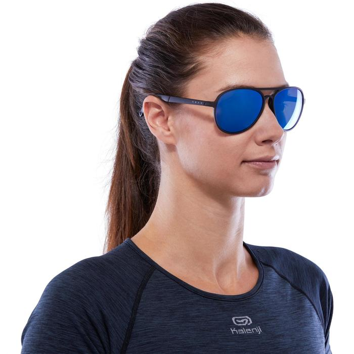 Walking 500 Polarised Fitness Walking Sunglasses Category 3 - Blue