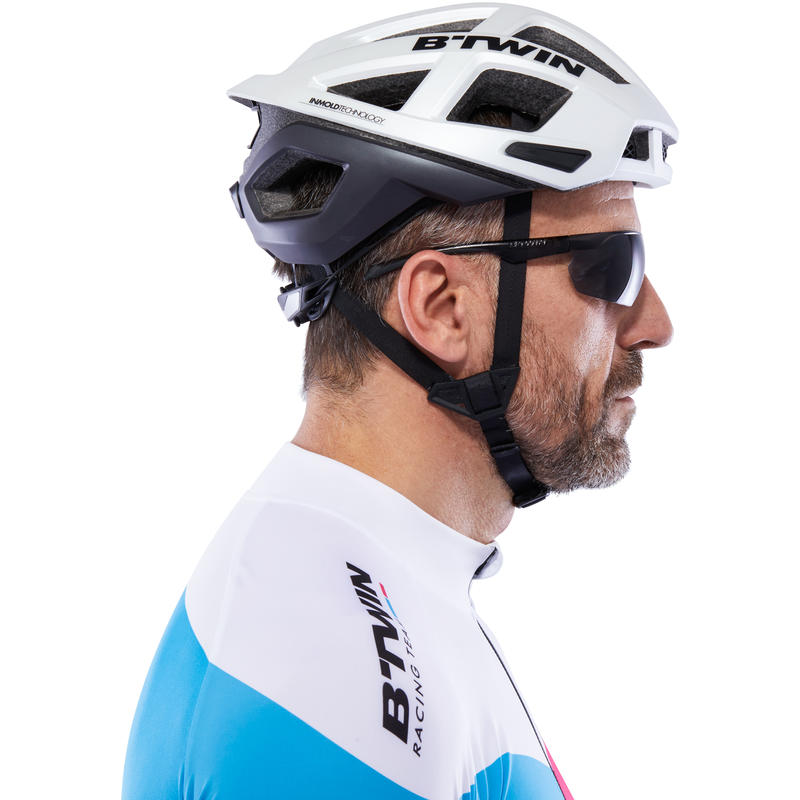 Lentes de ciclismo adulto CYCLING 100 grises categoría 3