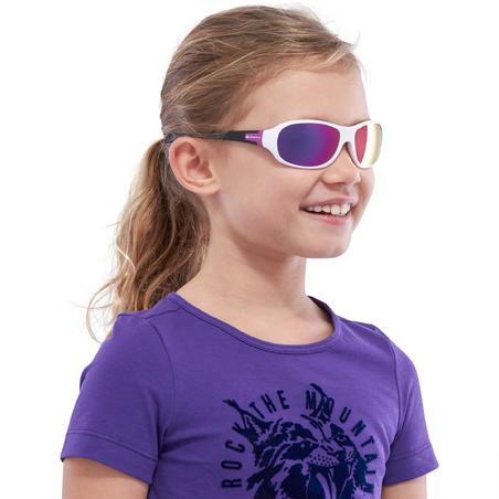 MH T500 Category 4 Hiking Sunglasses - Kids Ages 6-10