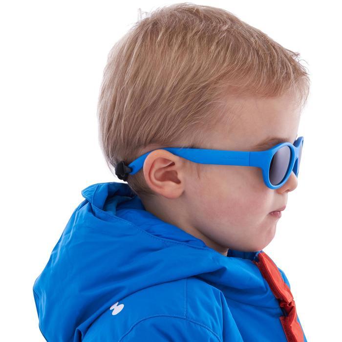 Zonnebril trekking voor kinderen 2-4 jaar MH K 100 blauw categorie 3