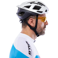 Fietsbril voor volwassenen Cycling 100 geel categorie 1 - 1116771
