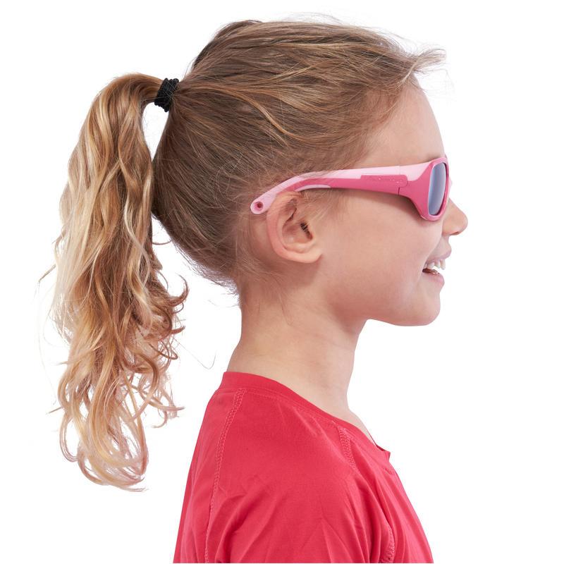 Lentes de sol excursión niños 3-6 años KID 500 rosado categoría 4