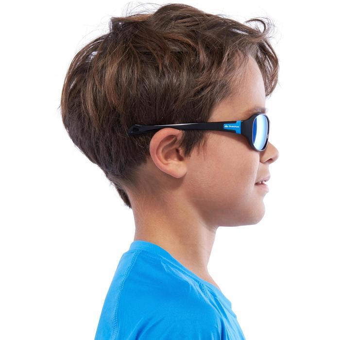 Zonnebril voor kinderen 7-10 jaar MH T 500 blauw polariserend CAT3