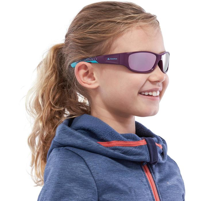 Lunettes de soleil ski randonnée enfant + de 7 ans TEEN 800 bleues catégorie 4 - 1116790