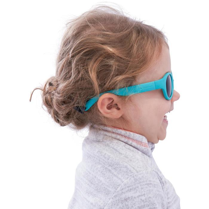 Lunettes de soleil randonnée enfant 2-4 ans MH K 100 bleues catégorie 3 - 1116808