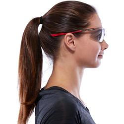 Hardloopbril voor volwassenen Running 600 rood/grijs meekleurend cat. 1 tot 3 - 1116823