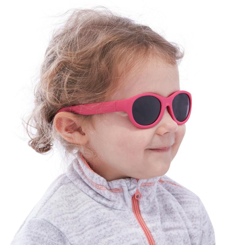 Kids Sunglasses MHT100 Cat 3 - Pink