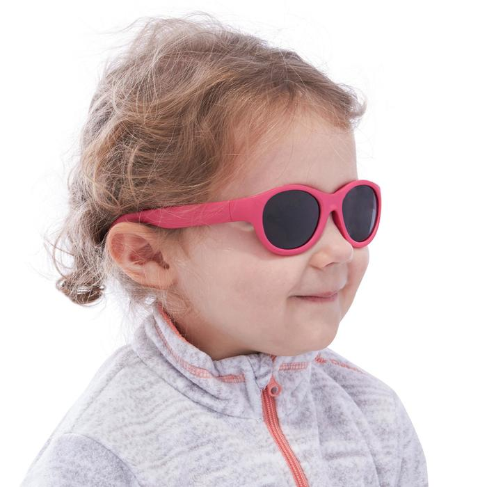 Lunettes de soleil randonnée enfant 2-4 ans MH K 100 bleues catégorie 3 - 1116829