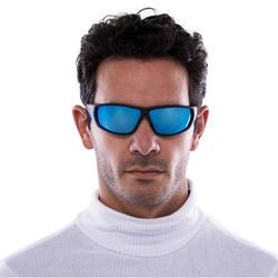 Skibrillen volwassenen Skiing 700 zwart & blauw categorie 4 - 1116836