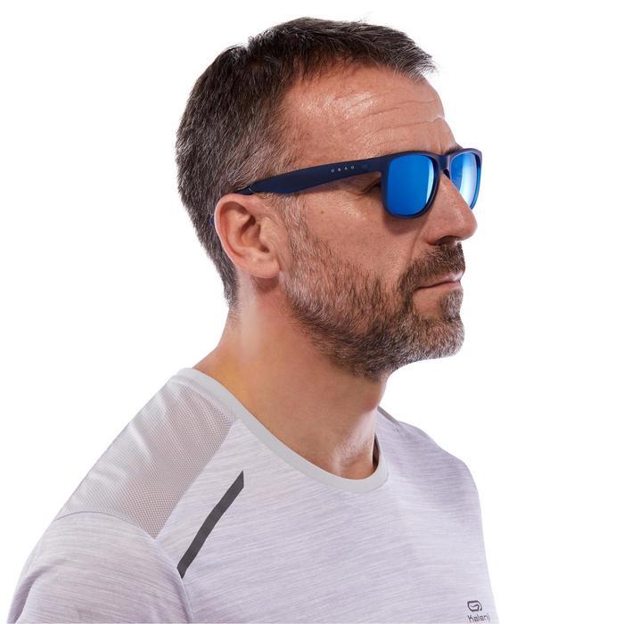 lunettes de soleil de marche sportive adulte WALKING 400 bleues catégorie 3 - 1116869