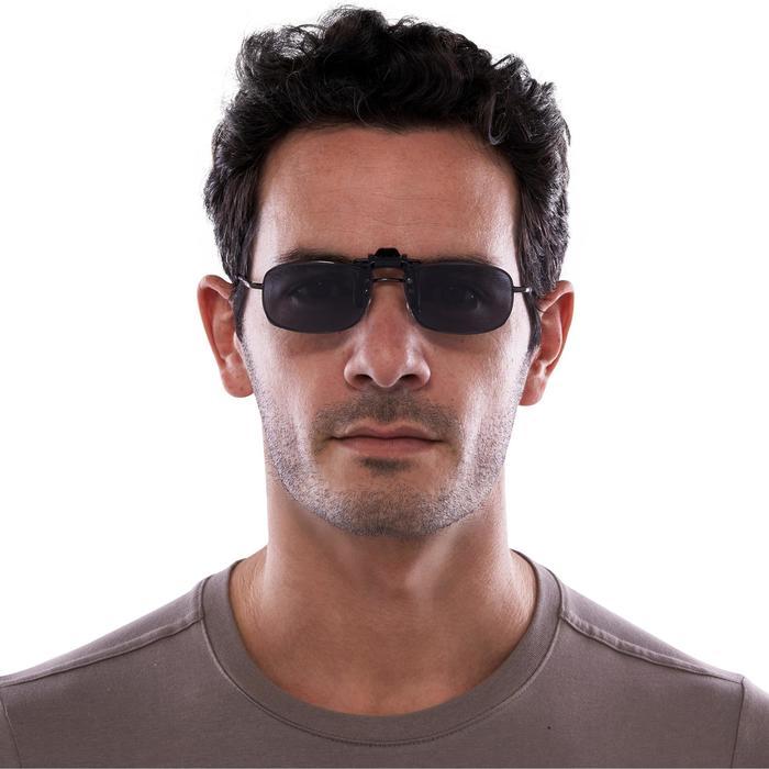 Clip-on voor bril op sterkte 120 Small polariserend categorie 3
