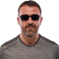 Gafas de sol de senderismo MH 100 negras de categoría 3