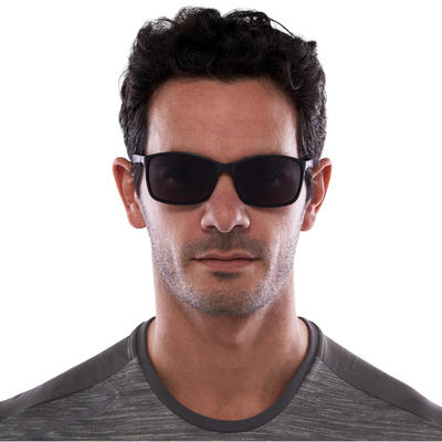 משקפי שמש לפעילות גופנית דגם 300 קטגוריה 3 - שחור