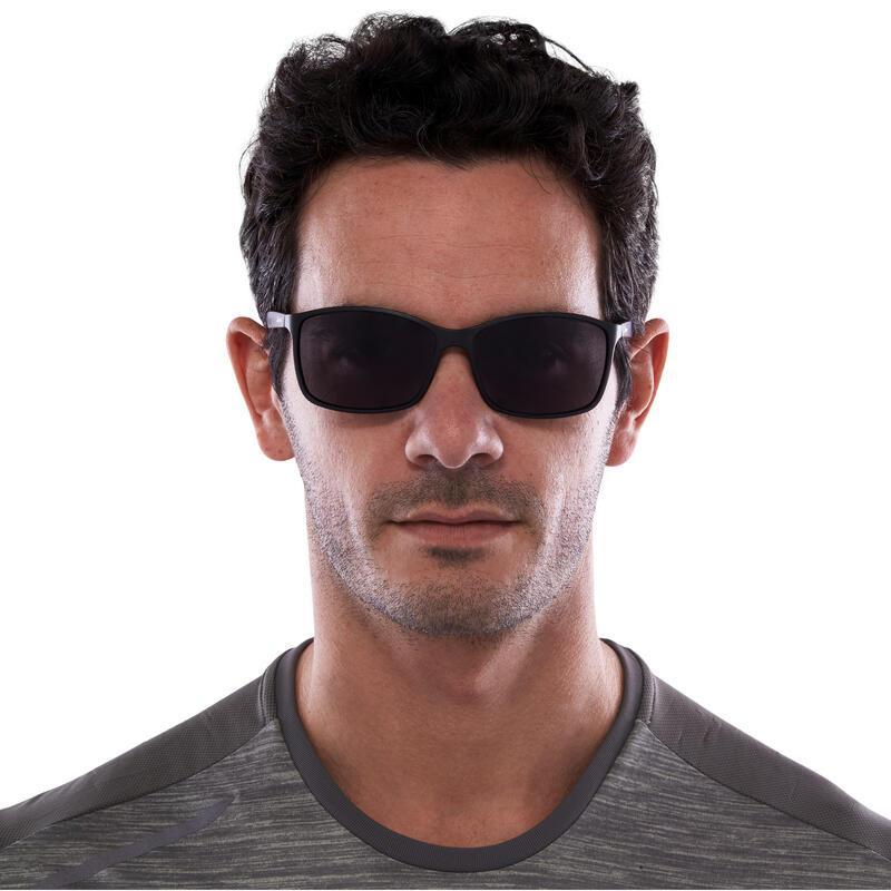 Hiking Sunglasses MH120 Category 3 - Black